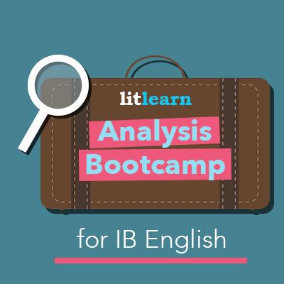 Analysis course for IB English