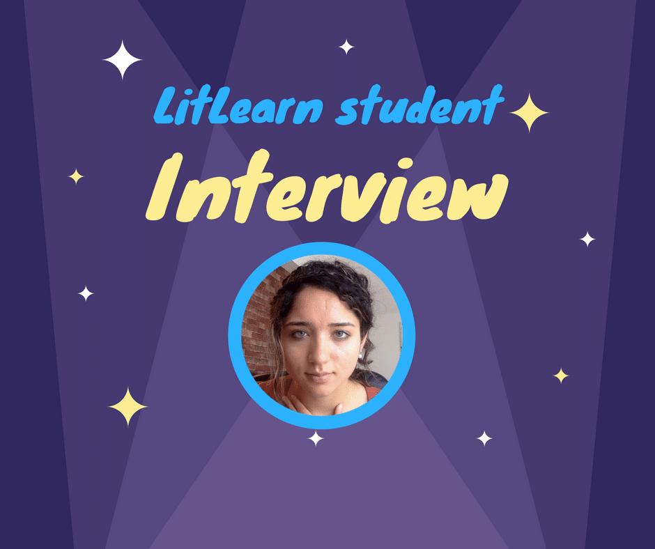Today's LitLearn interviewee is Karishma Lachhwani